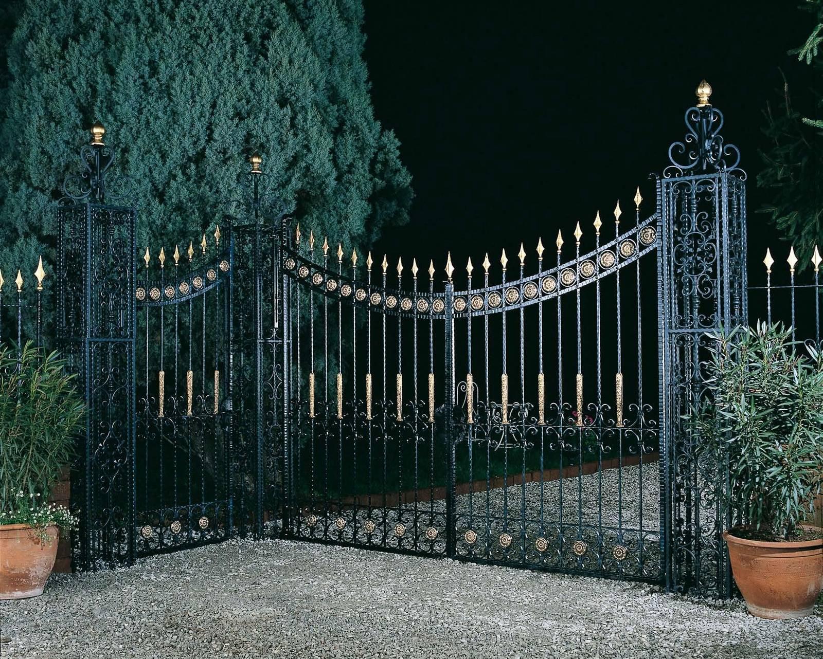 получения картинки красивых оград часть страны